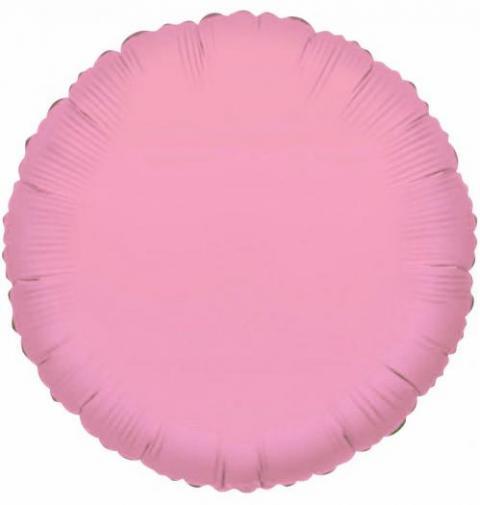 Round Baby Pink Foil Balloon (45cm)