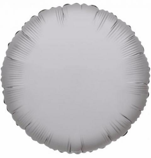 Round Silver Foil Balloon (45cm)