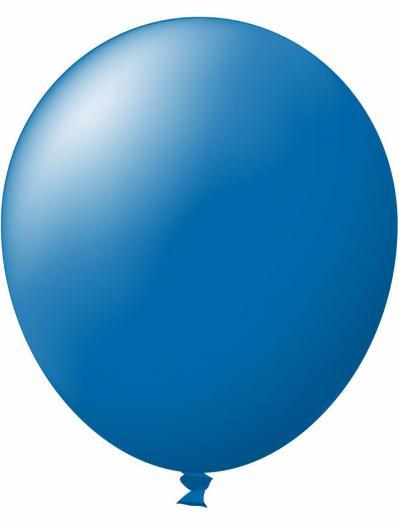 Unprinted Balloon -  Standard Blue (72cm, single pack)