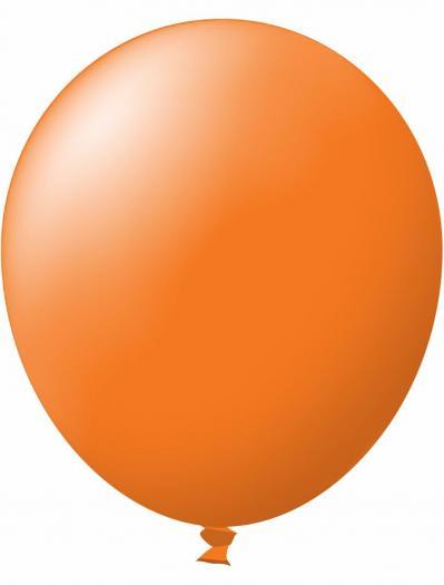 Unprinted Balloon -  Standard Orange (72cm, single pack)