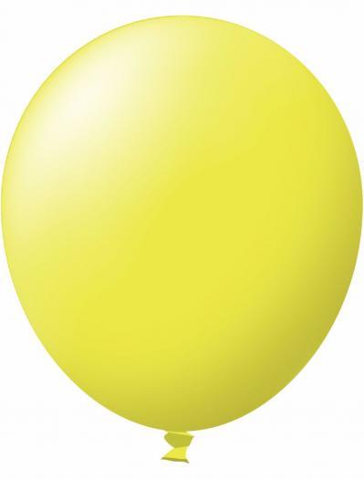 Unprinted Balloon -  Standard Yellow (72cm, single pack)