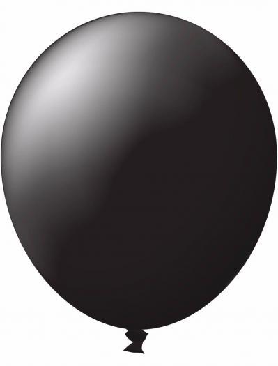 Unprinted Balloon -  Standard Black (72cm, single pack)