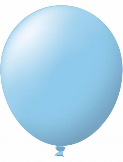 Unprinted Balloon -  Standard Light Blue (72cm, single pack)