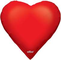 Hearts Shaped Foil Balloon (71cm)