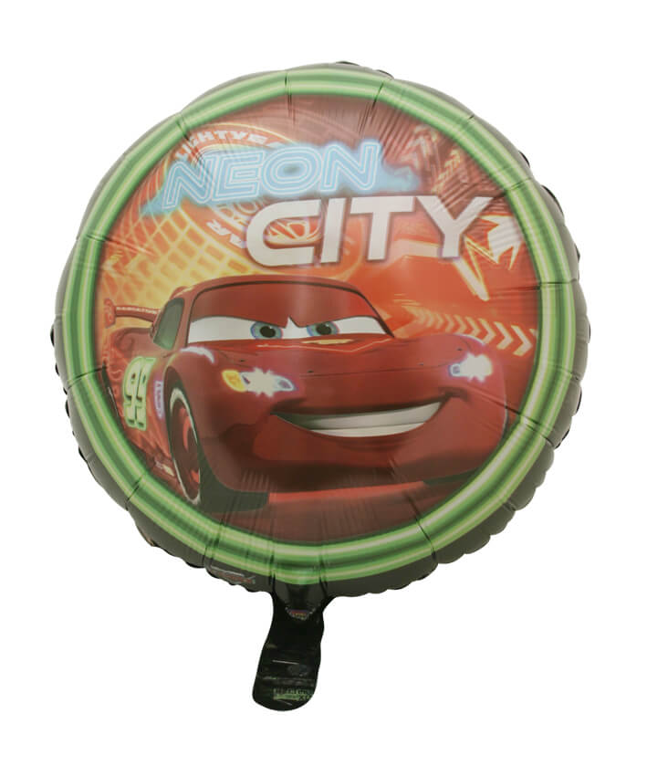 Cars Neon City Foil Balloon (45cm)