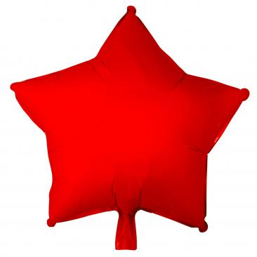 Star Shaped Red Foil Balloon (45cm)