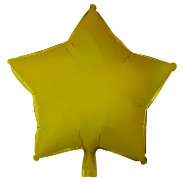 Star Shaped Gold Foil Balloon (45cm)