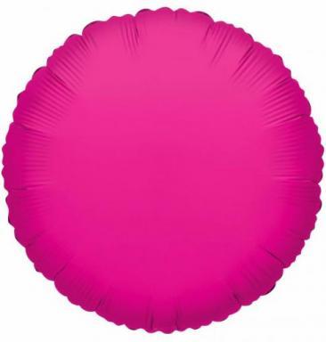 Round Hot Pink Foil Balloon (45cm)