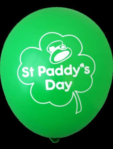 St Paddy's Day Balloons (30cm, 12pk)