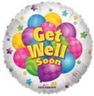 Get Well Soon Foil Balloons (45cm)