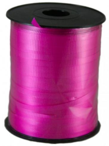 Curling Ribbon, 500yd Roll, Hot Pink