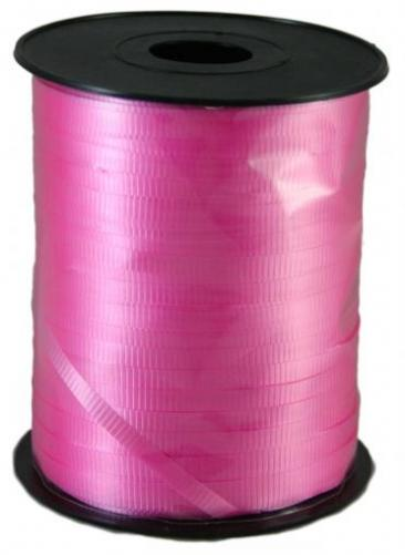 Curling Ribbon, 500yd Roll, Light Pink