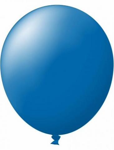 Unprinted Balloon -  Standard Blue (72cm, single pack)