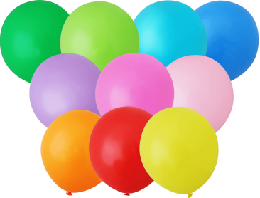 Unprinted Balloons - 30cm Standard (packs of 100)