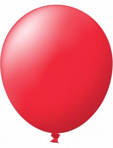Unprinted Balloon -  Standard Red (72cm, single pack)