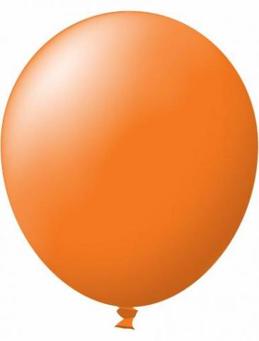 Unprinted Balloon -  Standard Orange (72cm, single pack)