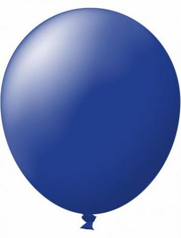 Unprinted Balloon -  Standard Navy Blue (72cm, single pack)